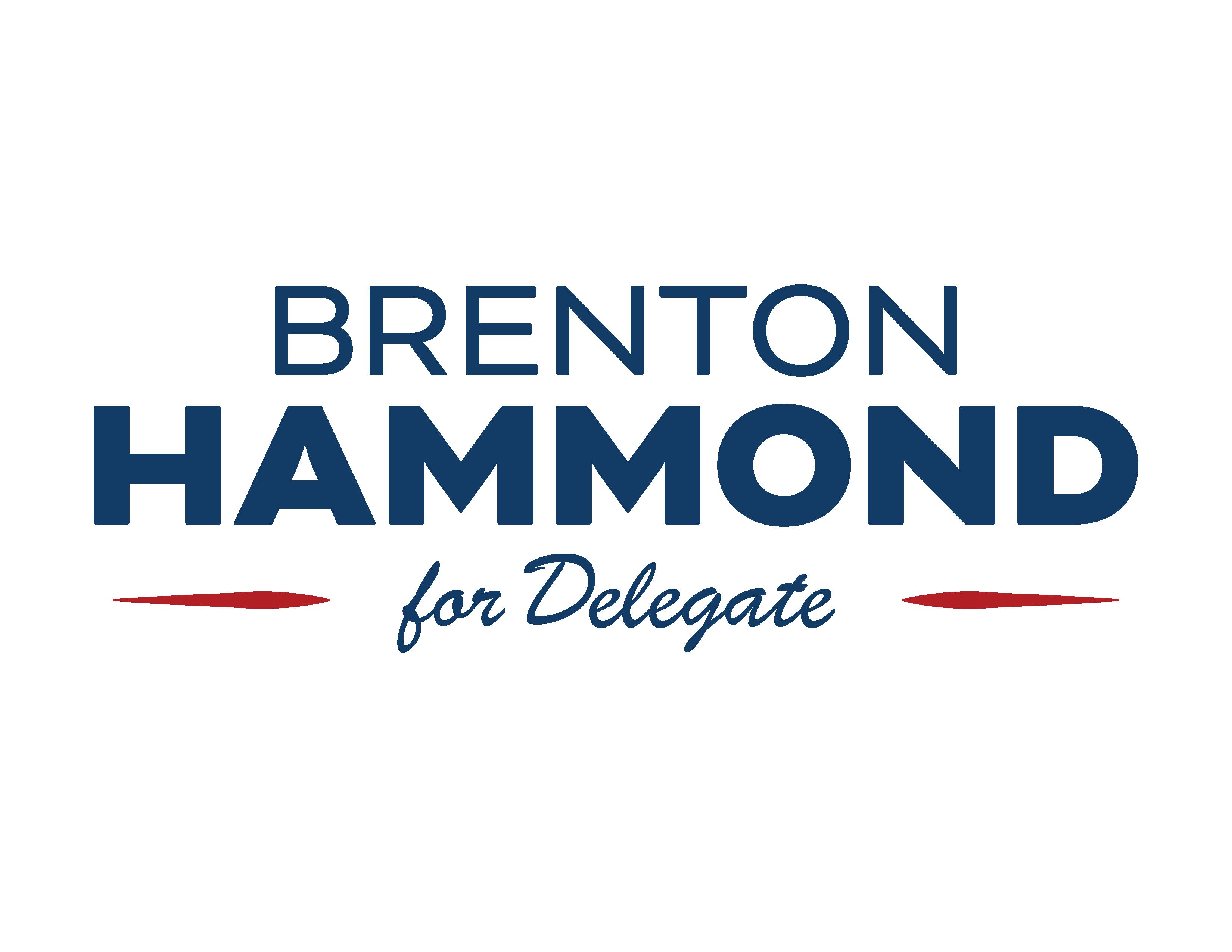 Brenton Hammond for Delegate