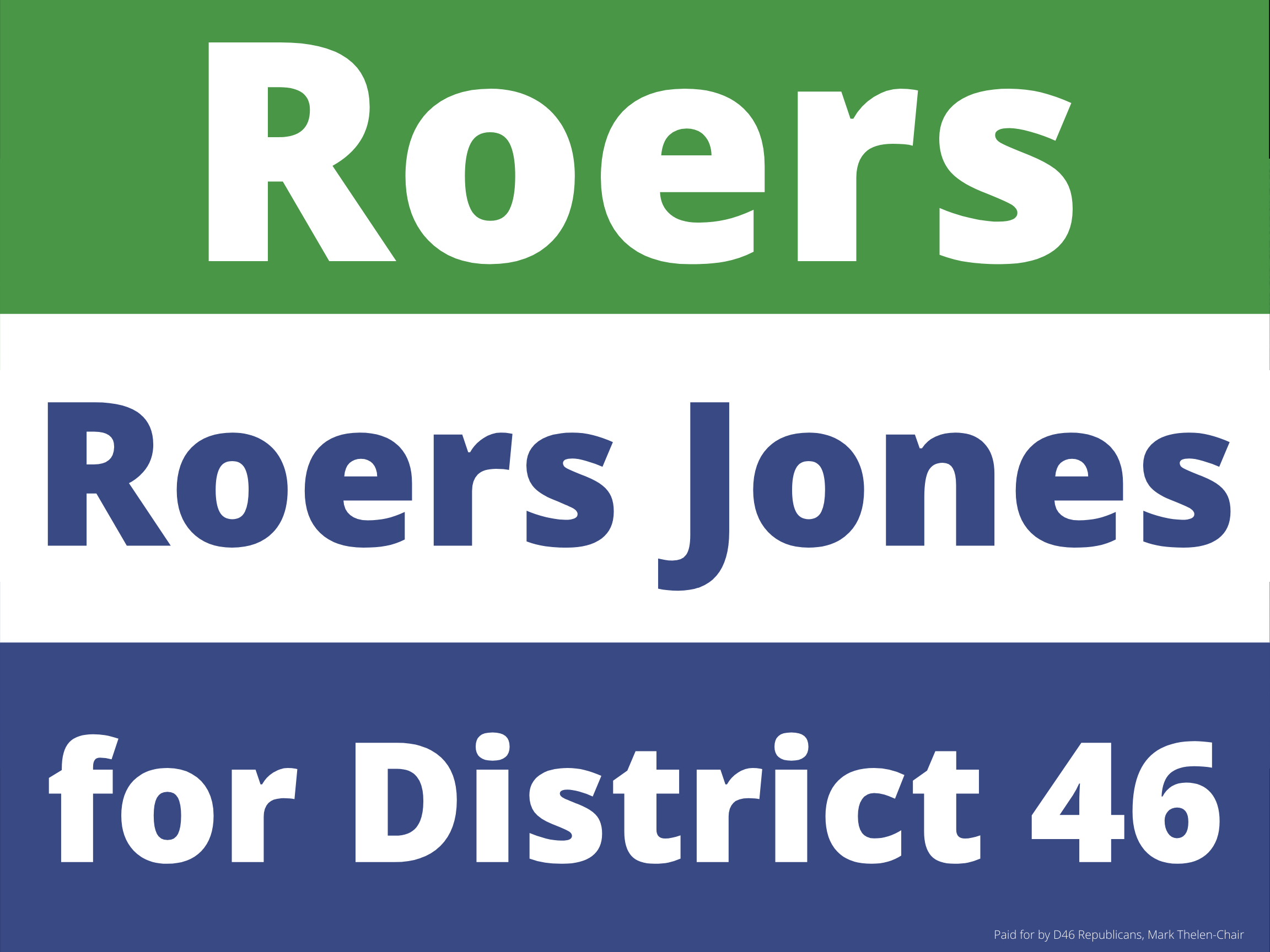 Representative Shannon M. Roers Jones